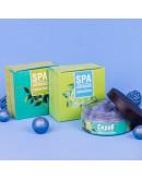 Скраб масляно-солевой для тела Морской коктейль увлажняющий Crimean SPA Collection c экстрактом ламинарии