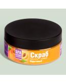 Скраб масляно-солевой для тела Фруктовый витаминный Crimean SPA Collection c экстрактами персика, абрикоса, розмарина