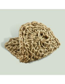 Джутовая мочалка- кесе рукавица для пилинга