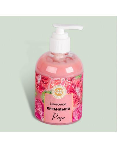 Крем-мыло Роза для всех типов кожи Цветочная коллекция