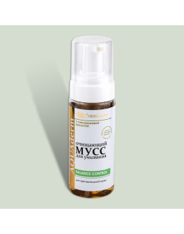Очищающий мусс для умывания для чувствительной кожи Cremissimo Collection