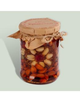 Крымская мозаика орехи в меду