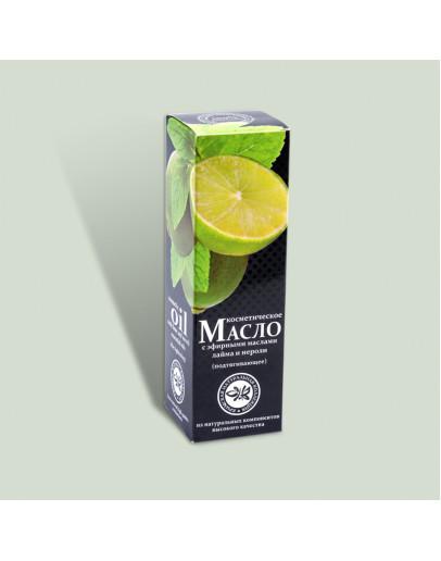 Масло косметическое Подтягивающее Crimean SPA Collection с эфирными маслами лайма и нероли