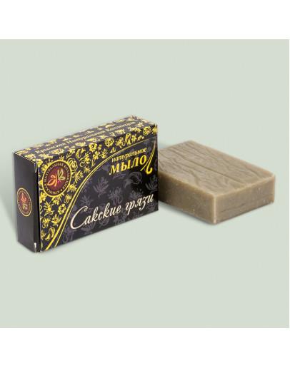 Натуральное мыло Сакские грязи