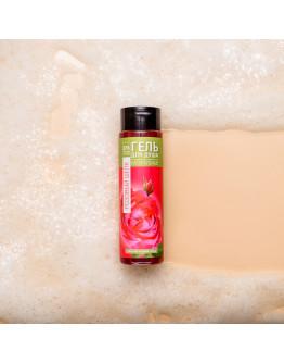 Натуральный гель для душа на морской розовой соли Розовый шелк Crimean SPA Collection