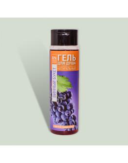 Натуральный гель для душа на морской розовой соли Винный букет Crimean SPA Collection