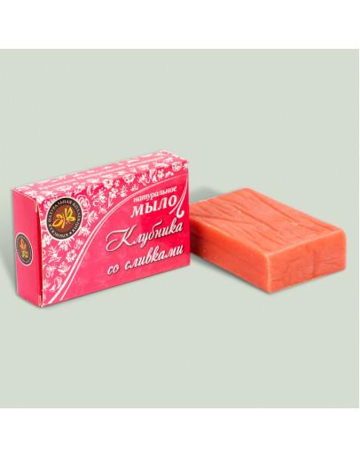 Натуральное мыло Клубника со сливками
