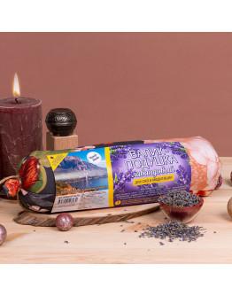 Валик-подушка Лавандовый для сна и медитации 30х8